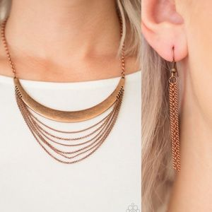 ❤️Way Wayfarer Copper Necklace Set